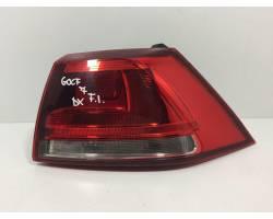 Stop fanale posteriore Destro Passeggero VOLKSWAGEN Golf 7 Berlina (12>)