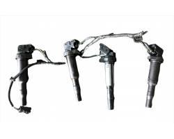 BOBINE ACCENSIONE PEUGEOT 207 1° Serie 1400 Benzina 8fs RICAMBI USATI