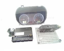 4s,61-12a650-sc KIT CENTRALINA MOTORE FORD Fiesta 5° Serie 1300 Benzina 55 Fuja (2005) RICAMBI USATI