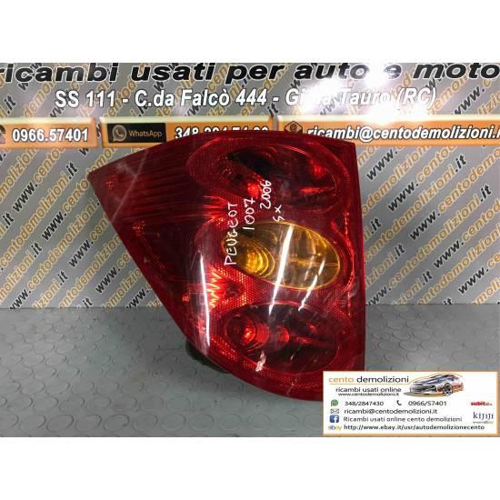 Stop Posteriore sinistro lato Guida PEUGEOT 1007 1° Serie