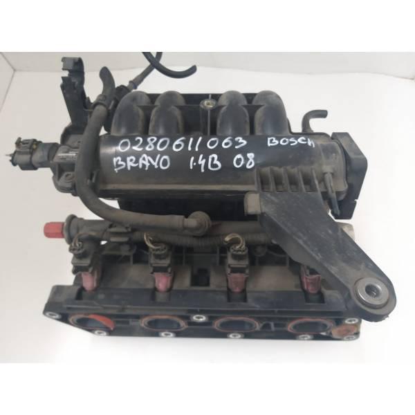 0280611063 COLLETTORE ASPIRAZIONE FIAT Bravo 2° Serie 1.4 benzina (2008) RICAMBI USATI