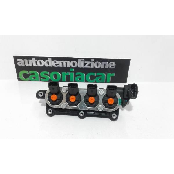 110R-000057 INIETTORI GPL FIAT 500 Restyling 1200 Benzina (2017) RICAMBI USATI