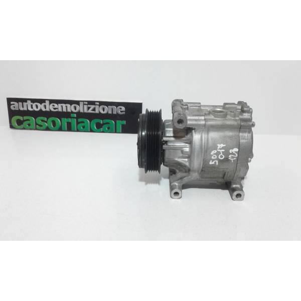 COMPRESSORE A/C FIAT 500 Restyling 1200 Benzina (2017) RICAMBI USATI