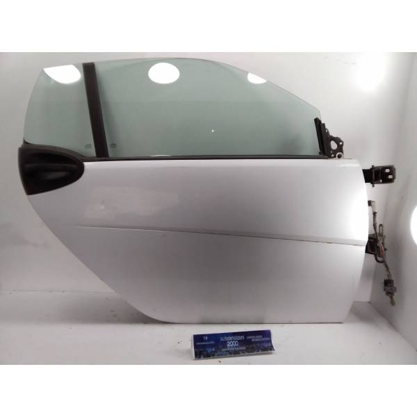 PORTIERA ANTERIORE DESTRA SMART Fortwo Coupé 3° Serie (w 451) Benzina (2009) RICAMBI USATI