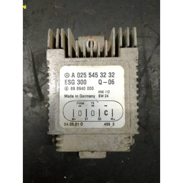 A0255453232 CENTRALINA VENTOLA RADIATORE MERCEDES Classe A W168 2° Serie 1400 Benzina (2001) RICAMBI USATI