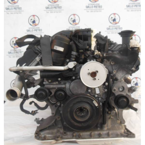 ctb MOTORE COMPLETO AUDI A8 3° Serie (4HC/4HL) 3000 Diesel CTB 93000 Km 193 Kw (2015) RICAMBI USATI