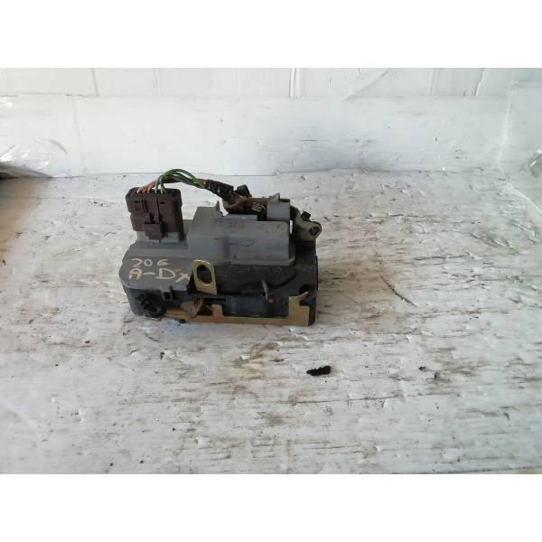 SERRATURA ANTERIORE DESTRA PEUGEOT 206 1° Serie Benzina (2002) RICAMBI USATI