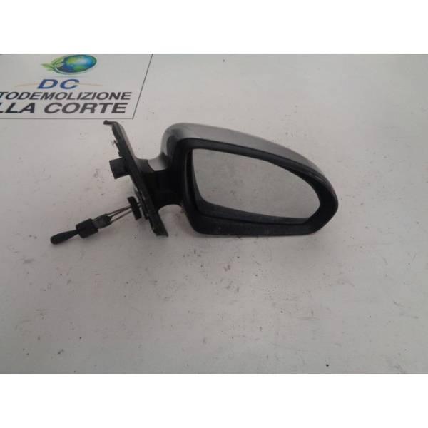SPECCHIETTO RETROVISORE DESTRO SMART Fortwo Coupé 3° Serie (w 451) 1000 Benzina (2009) RICAMBI USATI