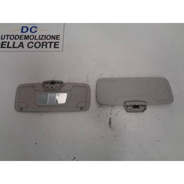 PARASOLE ALETTA ANTERIORE LATO GUIDA SMART Fortwo Coupé 3° Serie (w 451) 1000 Benzina (2009) RICAMBI USATI