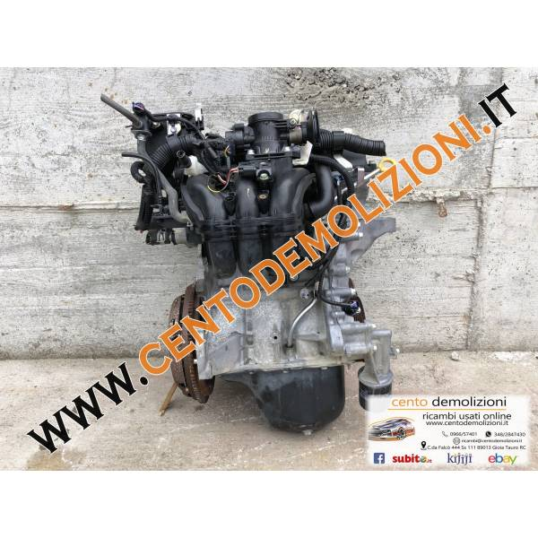 MOTORE COMPLETO PEUGEOT 107 1° Serie 1000 Benzina 1KR (2012) RICAMBI USATI