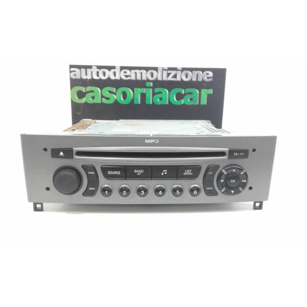 AUTORADIO MP3 PEUGEOT 308 Serie (07>14) Benzina (2009) RICAMBI USATI