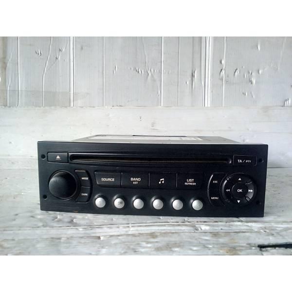 9666959577 AUTORADIO MP3 PEUGEOT 5008 1° Serie Benzina (2010) RICAMBI USATI