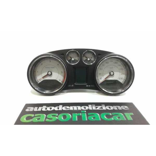 9665107680 QUADRO STRUMENTI PEUGEOT 308 1° Serie 1600 Diesel (2008) RICAMBI USATI