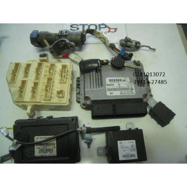 0281013072 39113-27485 KIT AVVIAMENTO MOTORE KIA Carens 2° Serie 2000 Diesel (2007) RICAMBI USATI
