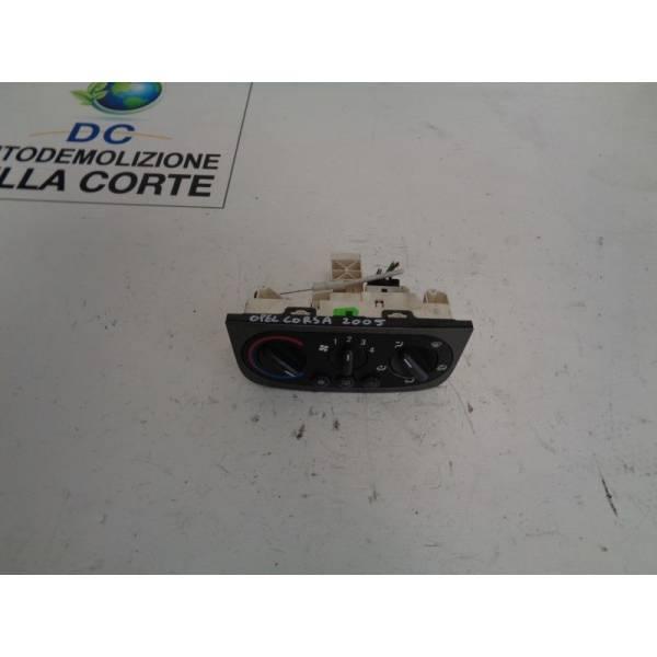 COMANDI CLIMA OPEL Corsa C 5P 2° Serie 1300 Diesel (2005) RICAMBI USATI