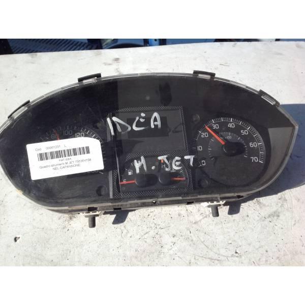 735364158 QUADRO STRUMENTI FIAT Idea 2° Serie Diesel RICAMBI USATI