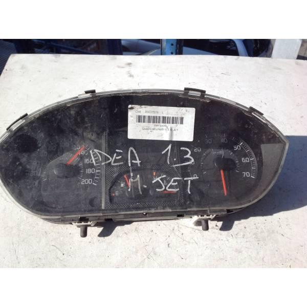 735364160 QUADRO STRUMENTI FIAT Idea 2° Serie Diesel RICAMBI USATI