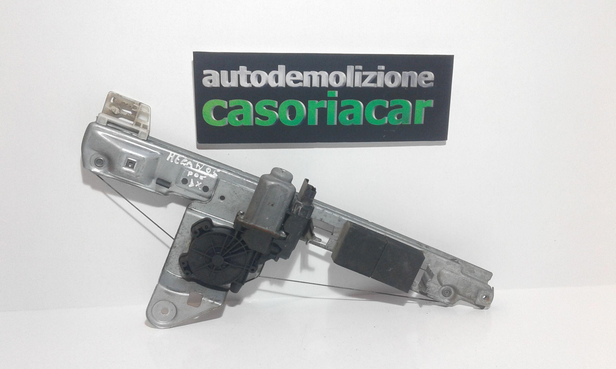 CREMAGLIERA POSTERIORE DESTRA PASSEGGERO RENAULT Megane ll Serie (02>06) Benzina  (2005) RICAMBI USATI