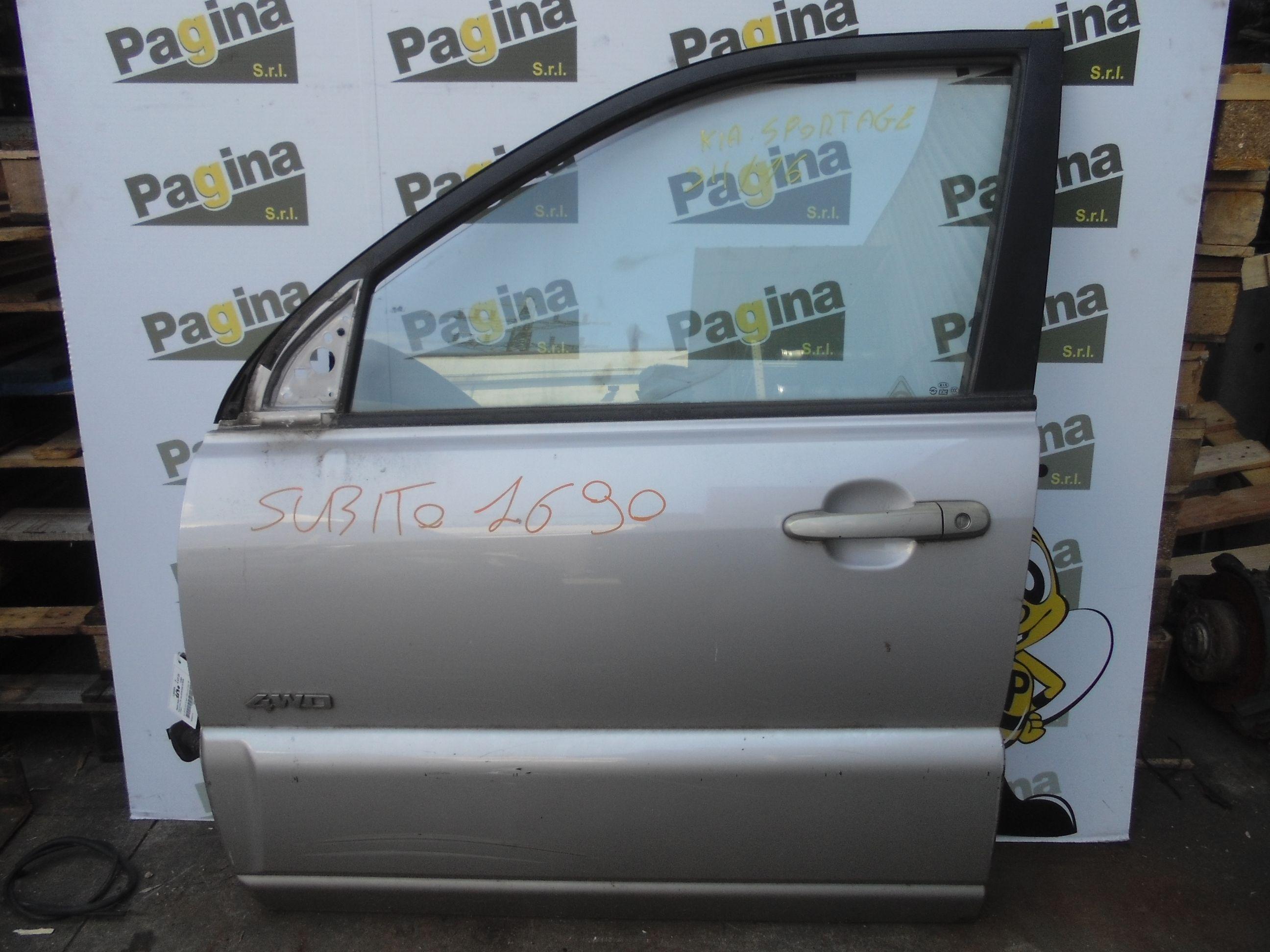 PORTIERA ANTERIORE SINISTRA KIA Sportage 3° Serie  Diesel    (2005) RICAMBI USATI