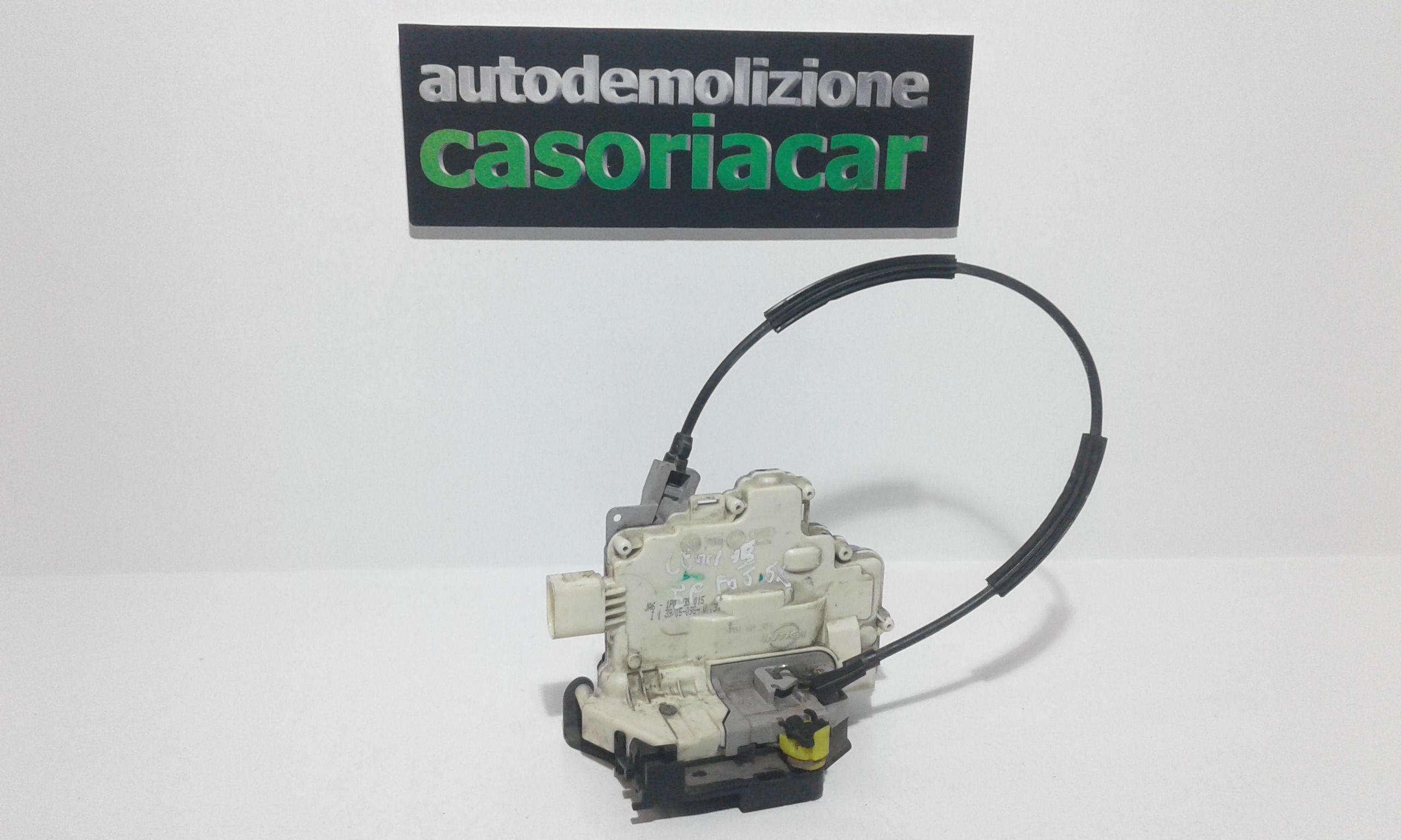 SERRATURA POSTERIORE SINISTRA SEAT Leon 2° Serie Benzina  (2005) RICAMBI USATI