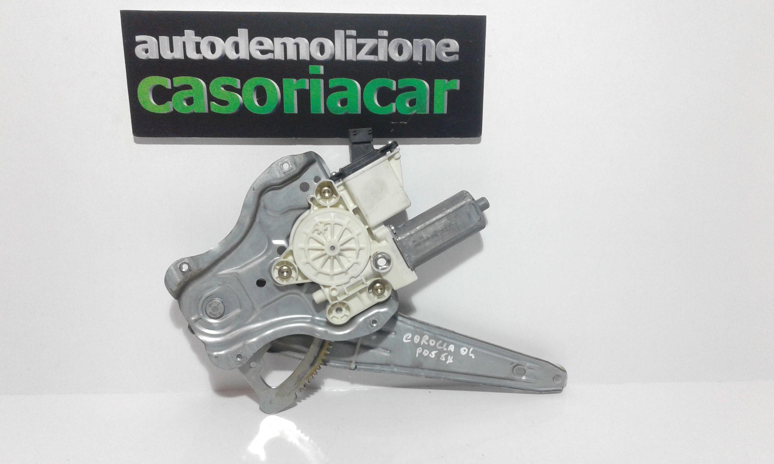 CREMAGLIERA POSTERIORE SINISTRA GUIDA TOYOTA Corolla Berlina 3° Serie 3-5P  Benzina    (2004) RICAMBI USATI