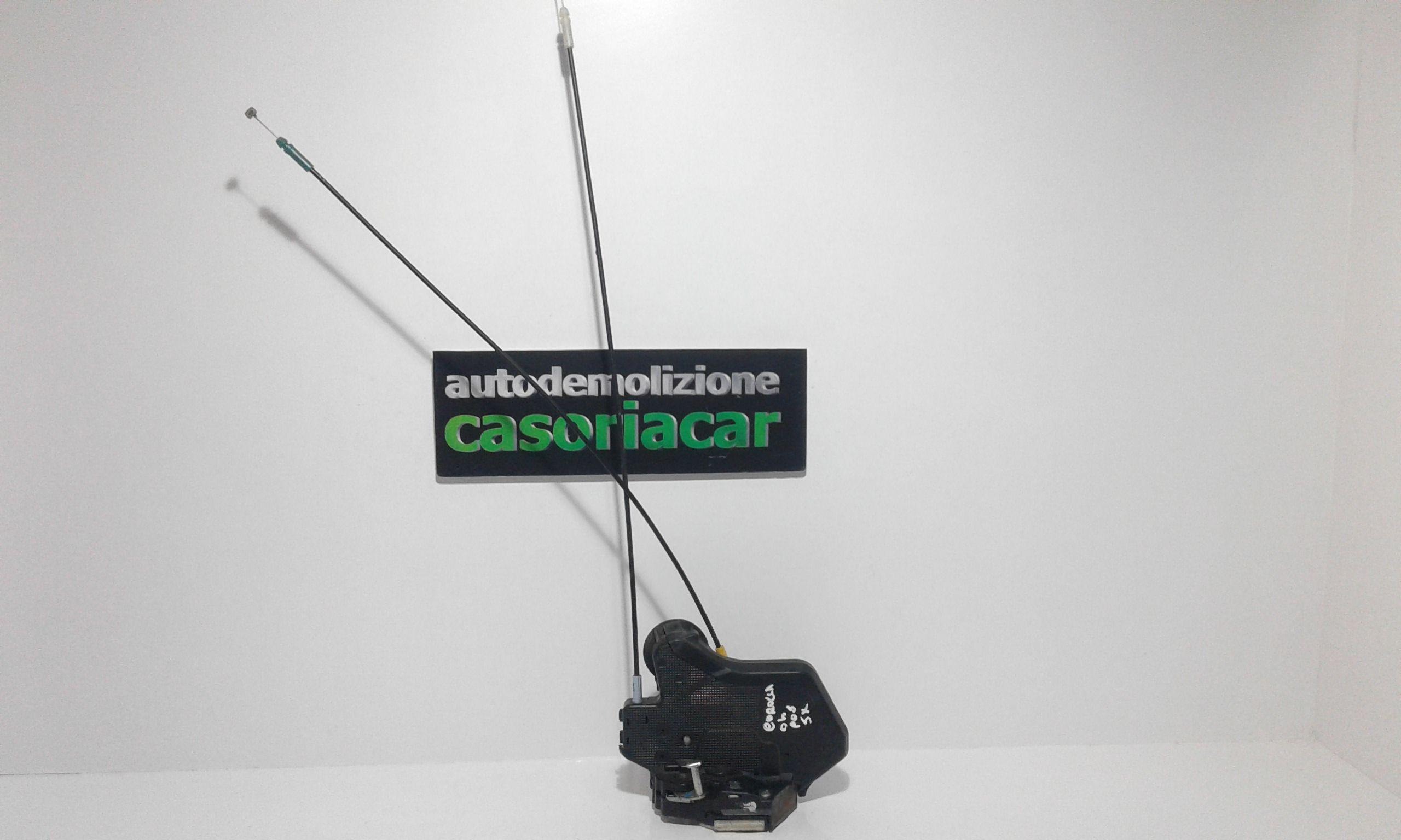 SERRATURA POSTERIORE SINISTRA TOYOTA Corolla Berlina 3° Serie 3-5P  Benzina    (2004) RICAMBI USATI