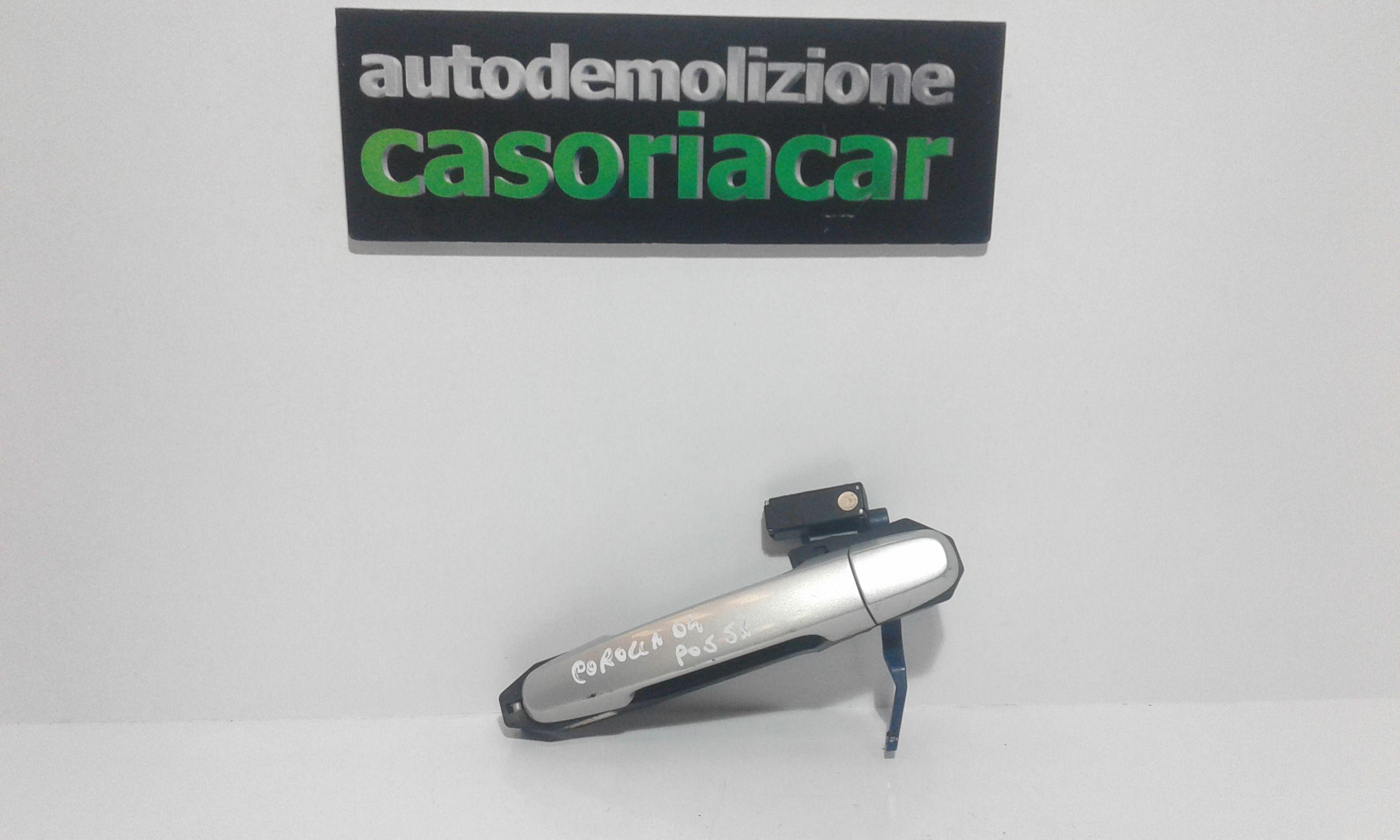 MANIGLIA ESTERNA POSTERIORE SINISTRA TOYOTA Corolla Berlina 3° Serie 3-5P Benzina  (2004) RICAMBI USATI