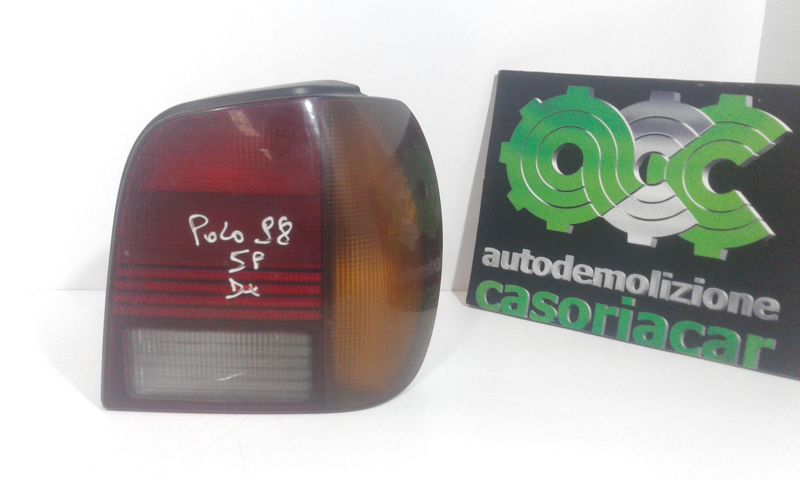 STOP FANALE POSTERIORE DESTRO PASSEGGERO VOLKSWAGEN Polo 3° Serie Benzina  (1998) RICAMBI USATI