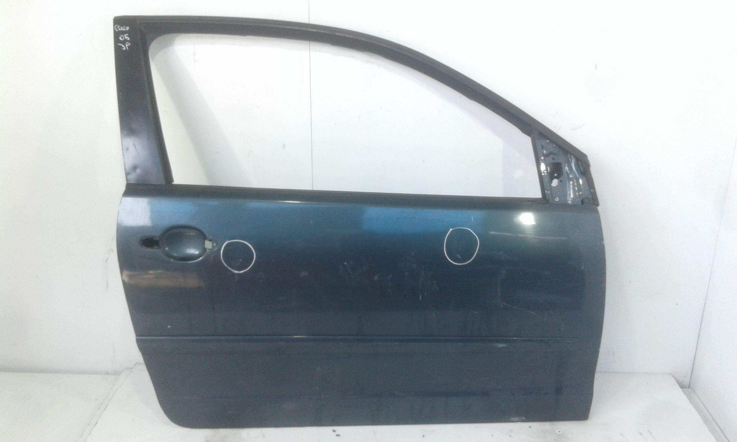 PORTIERA ANTERIORE DESTRA VOLKSWAGEN Polo 4° Serie Benzina  (2005) RICAMBI USATI