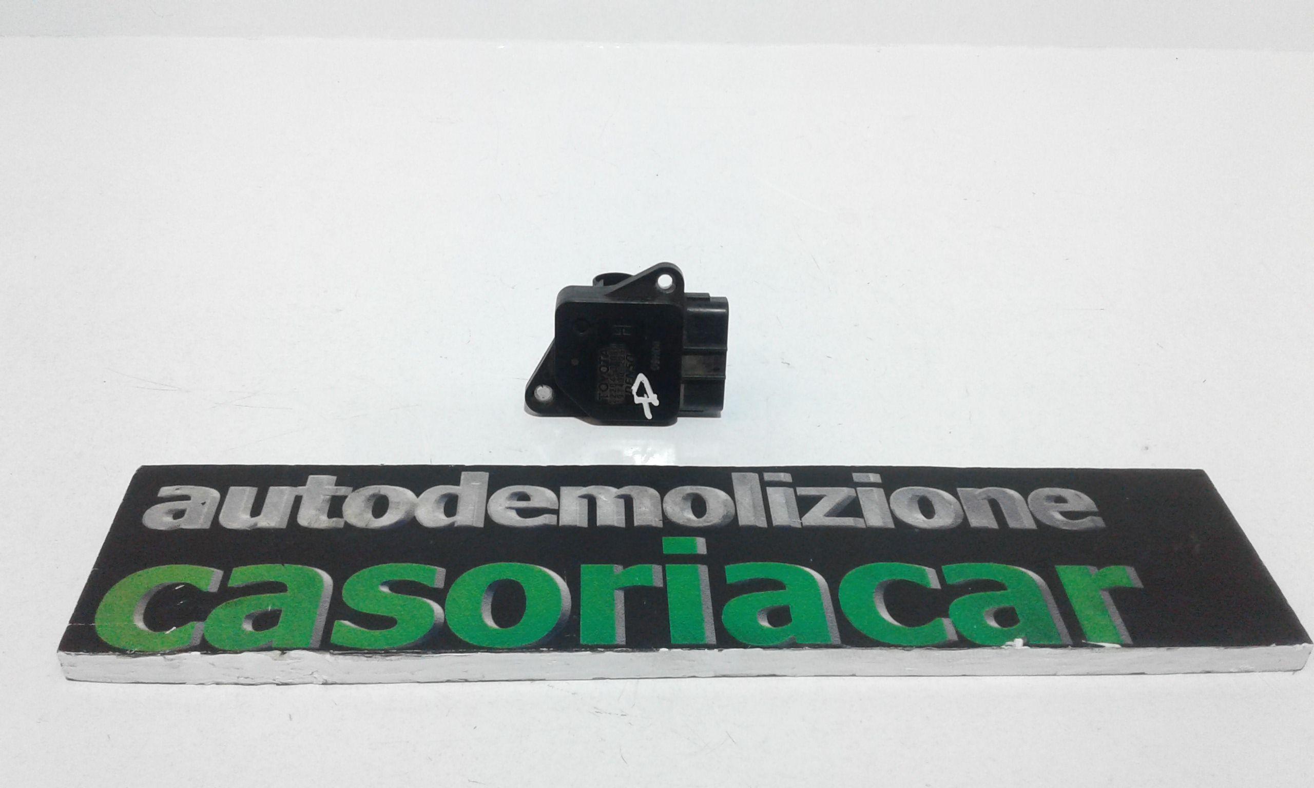 22204-33010 FLUSSOMETRO TOYOTA Corolla Berlina 3° Serie 3-5P 2000 Diesel    (2004) RICAMBI USATI