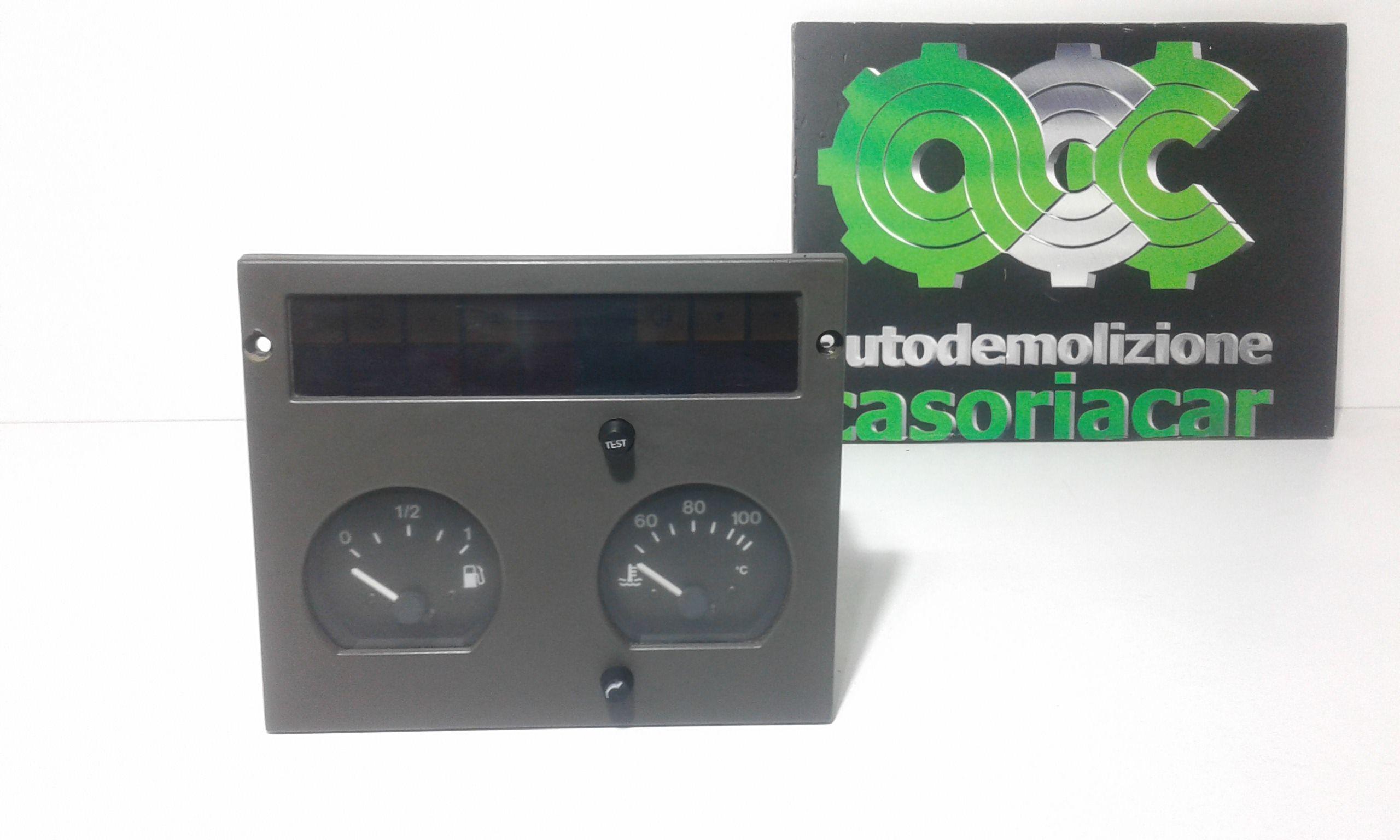 STRUMENTAZIONE IVECO Daily 2° Serie 2800 Diesel  (1996) RICAMBI USATI