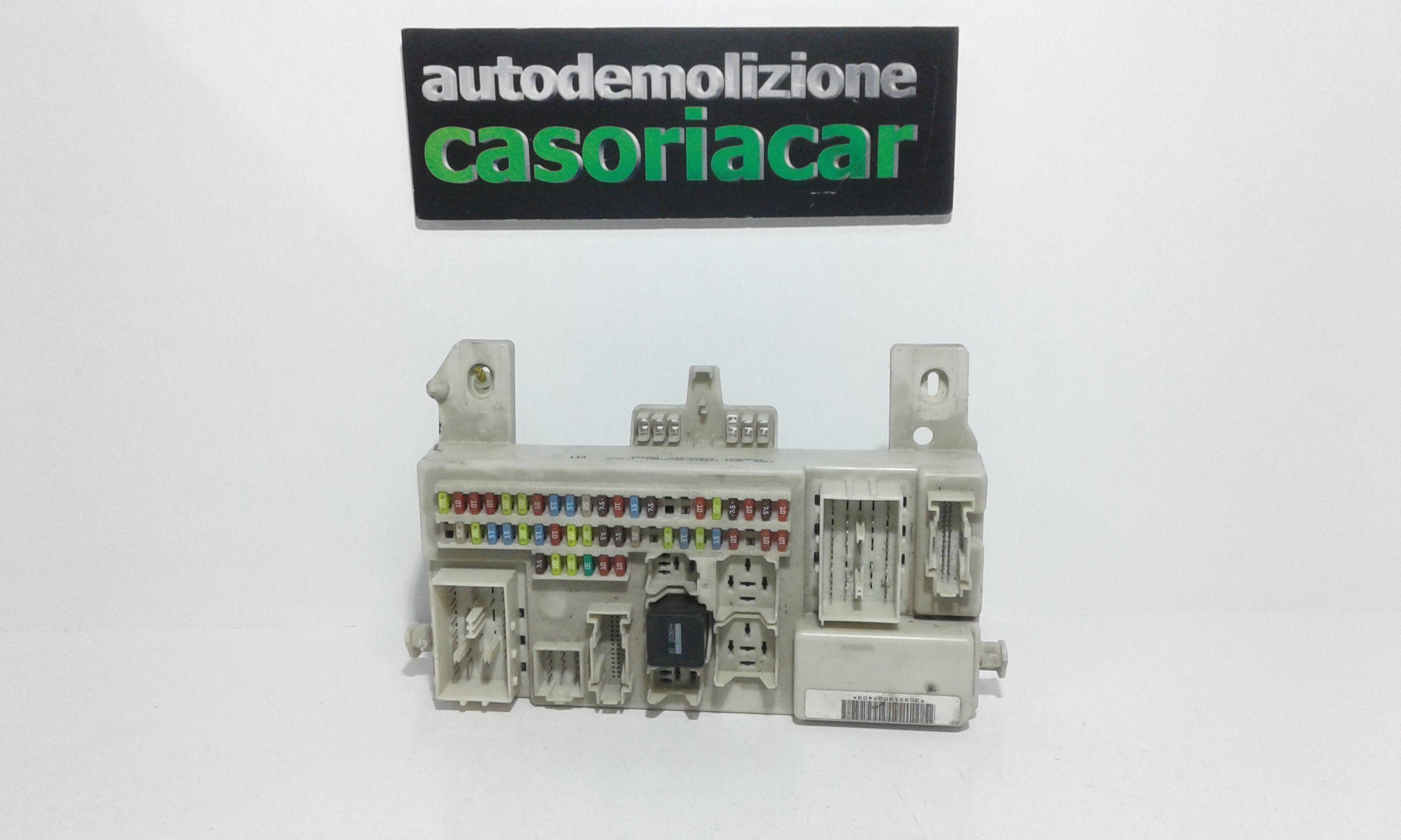 4k03750 CENTRALINA PORTA FUSIBILI FORD C - Max Serie (03>07) Benzina (2007) RICAMBI USATI