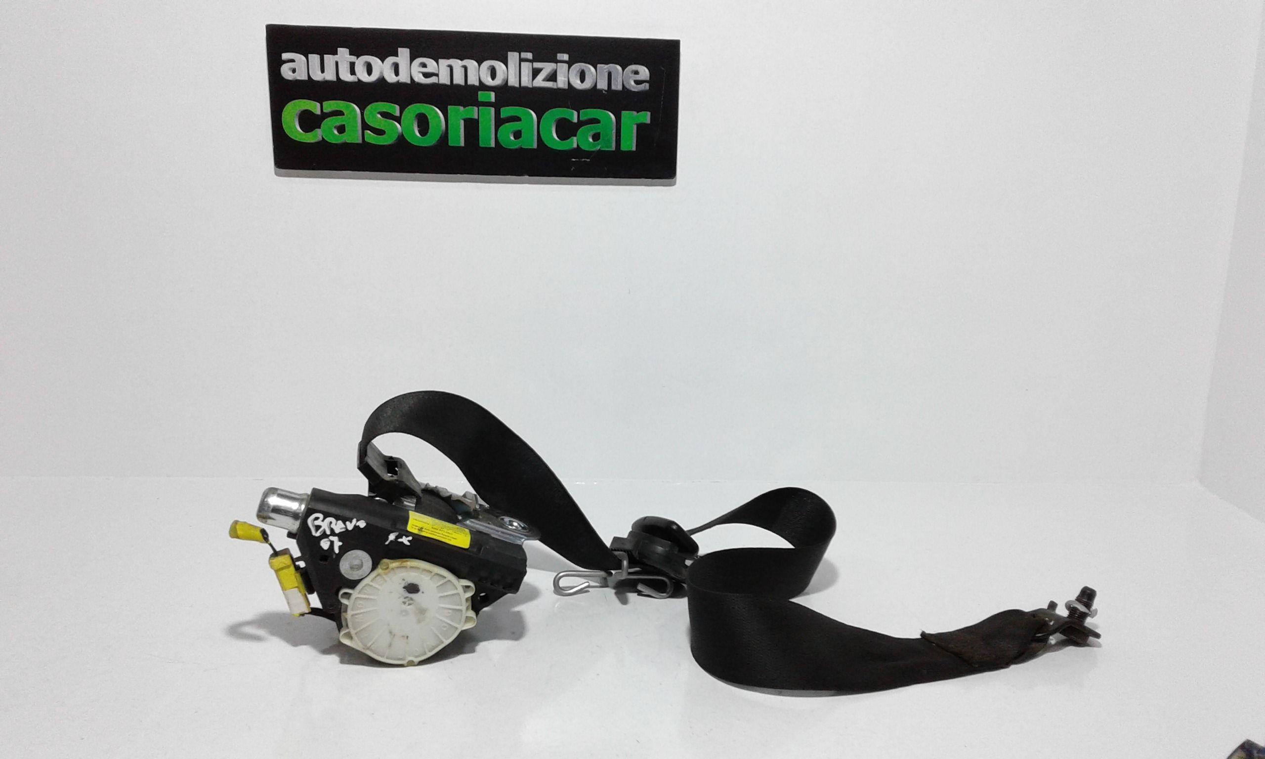 CINTURA DI SICUREZZA ANTERIORE SINISTRA CON PRETENSIONATORE FIAT Bravo 2° Serie 1900 Diesel  (2007) RICAMBI USATI