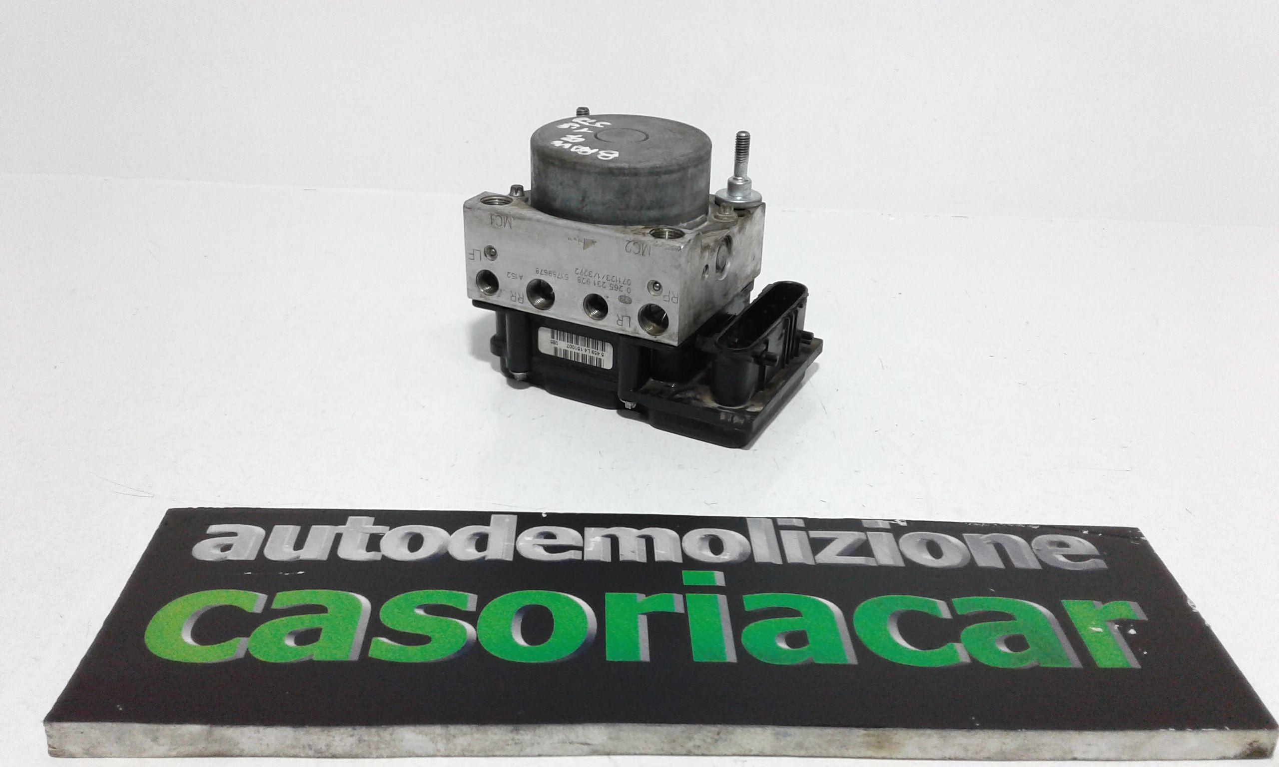 0265231928 ABS FIAT Bravo 2° Serie 1900 Diesel (2007) RICAMBI USATI