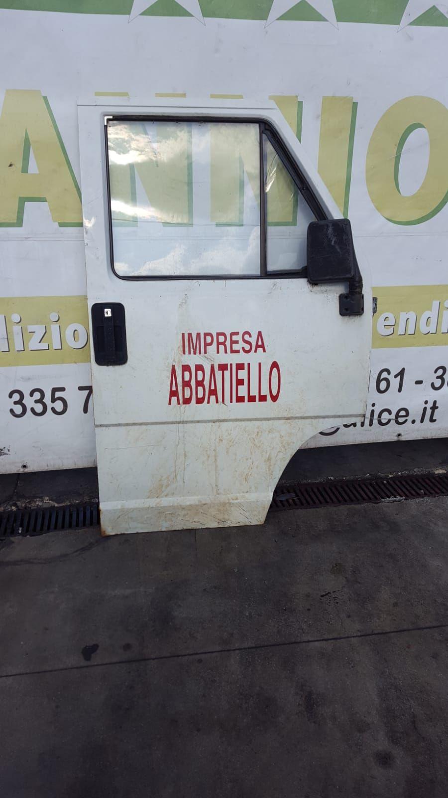 SERRATURA PORTA DESTRA FIAT DUCATO 1°SERIE ORIGINALE NUOVA