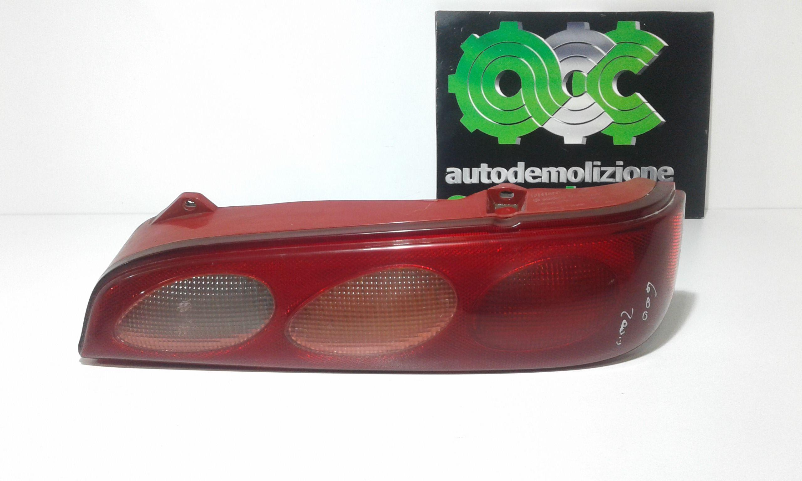 STOP FANALE POSTERIORE DESTRO PASSEGGERO FIAT Seicento Serie (98>00) Benzina (2000) RICAMBI USATI