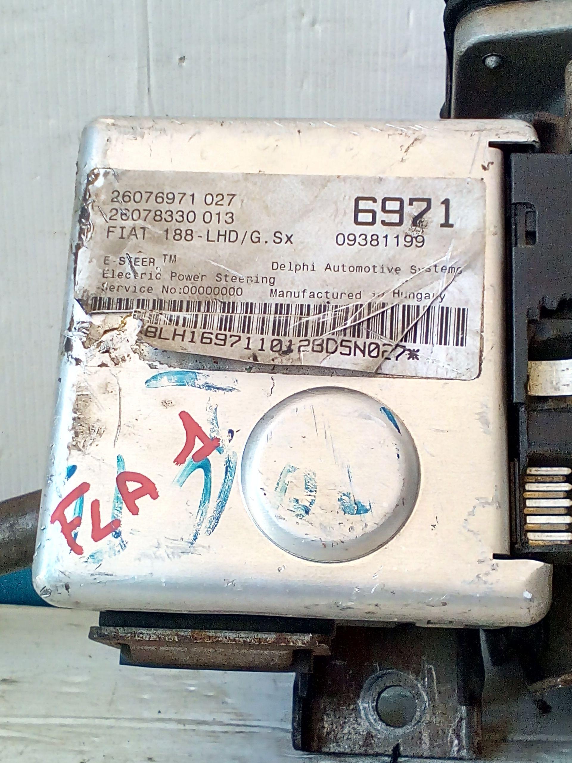 26076971 CENTRALINA SERVOSTERZO FIAT Punto Berlina 3P 2° Serie  Benzina    (1999) RICAMBI USATI