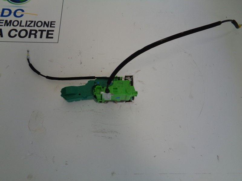 SERRATURA ANTERIORE SINISTRA ALFA ROMEO Mito 1° Serie 1400 Benzina  (2008) RICAMBI USATI