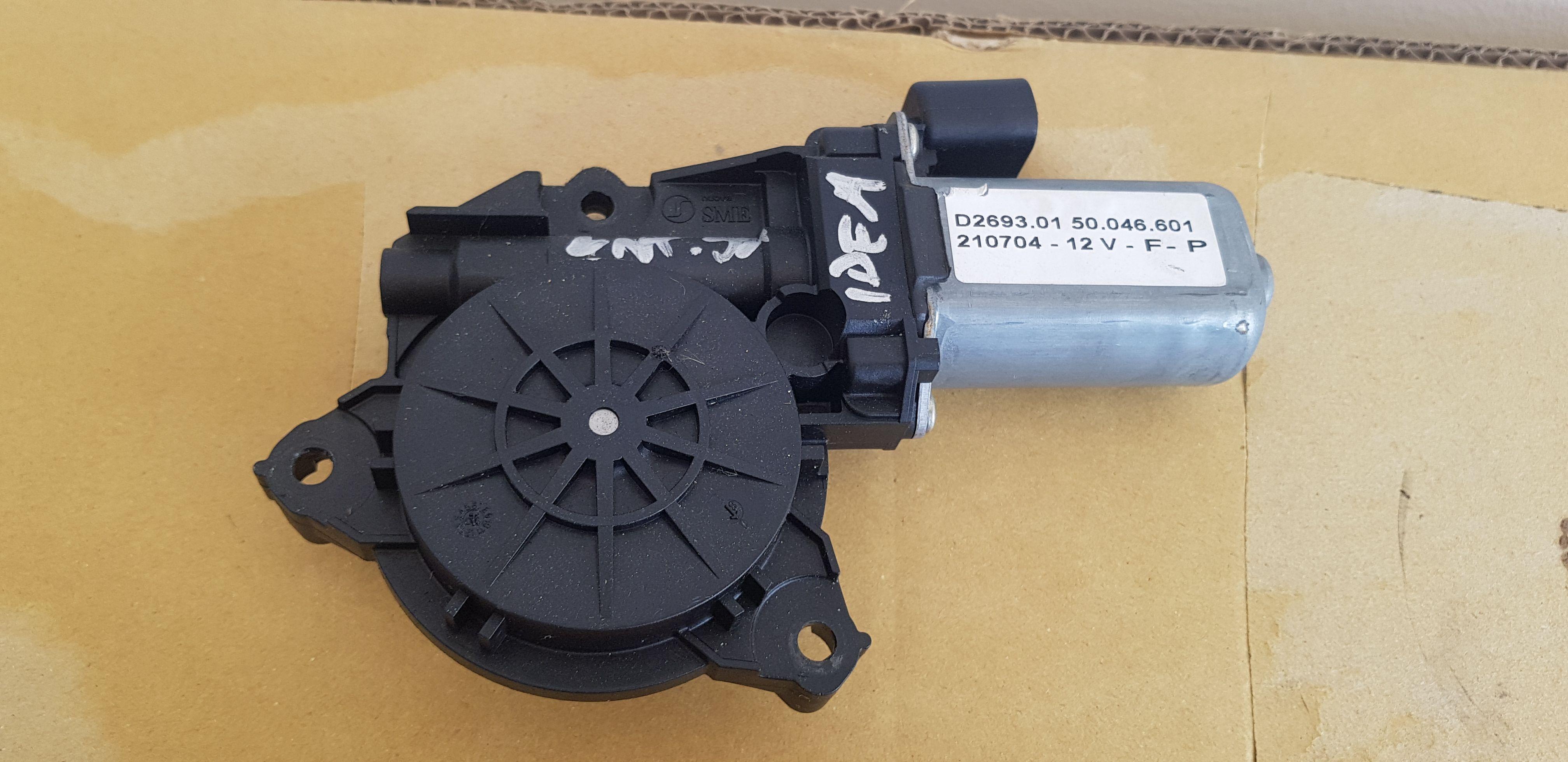 D2693.01 MOTORINO ALZAVETRO ANTERIORE SINISTRO FIAT Idea 1° Serie Benzina  RICAMBI USATI