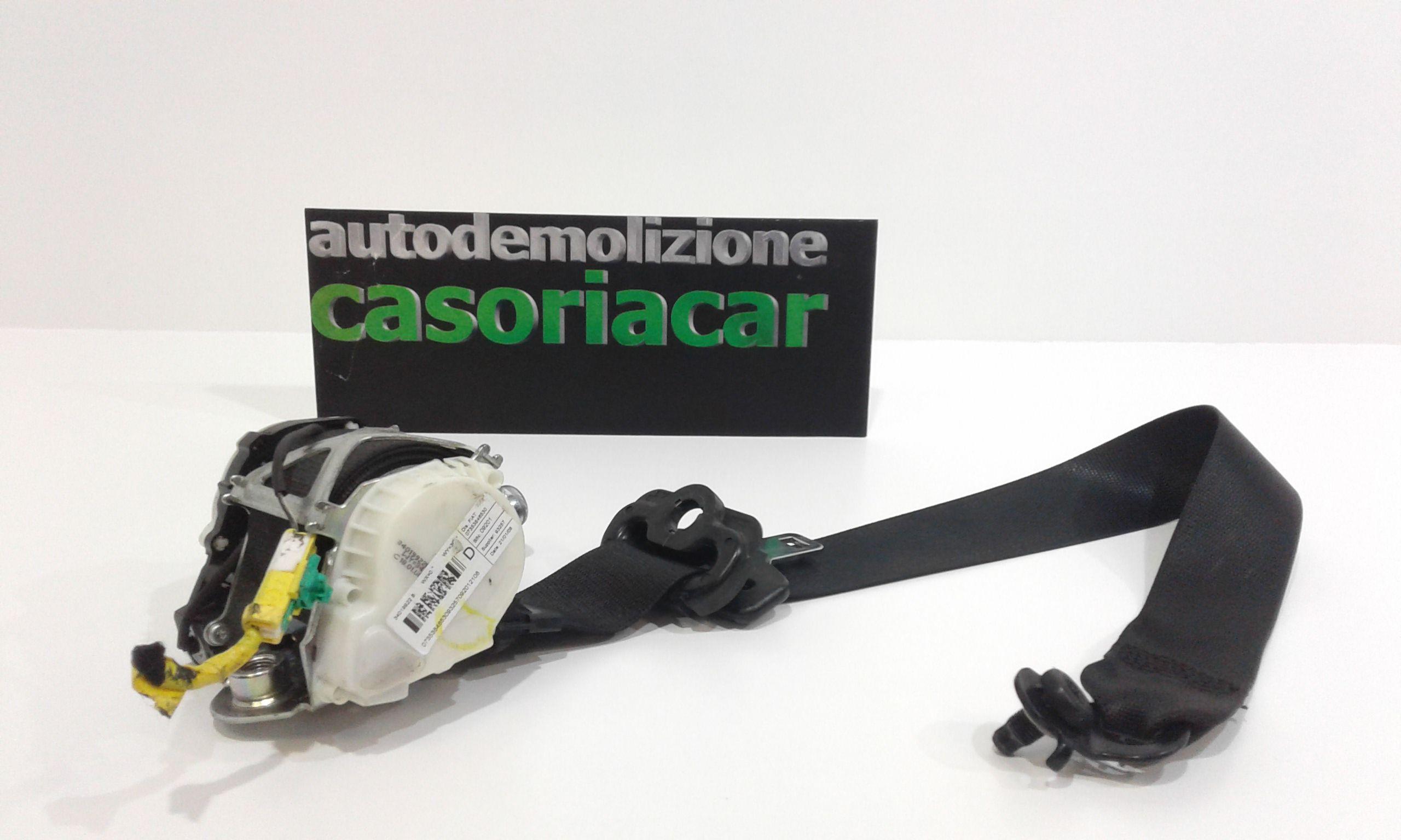 CINTURA DI SICUREZZA ANTERIORE DESTRA CON PRETENSIONATORE FIAT Bravo 2° Serie 1900 Diesel  (2008) RICAMBI USATI