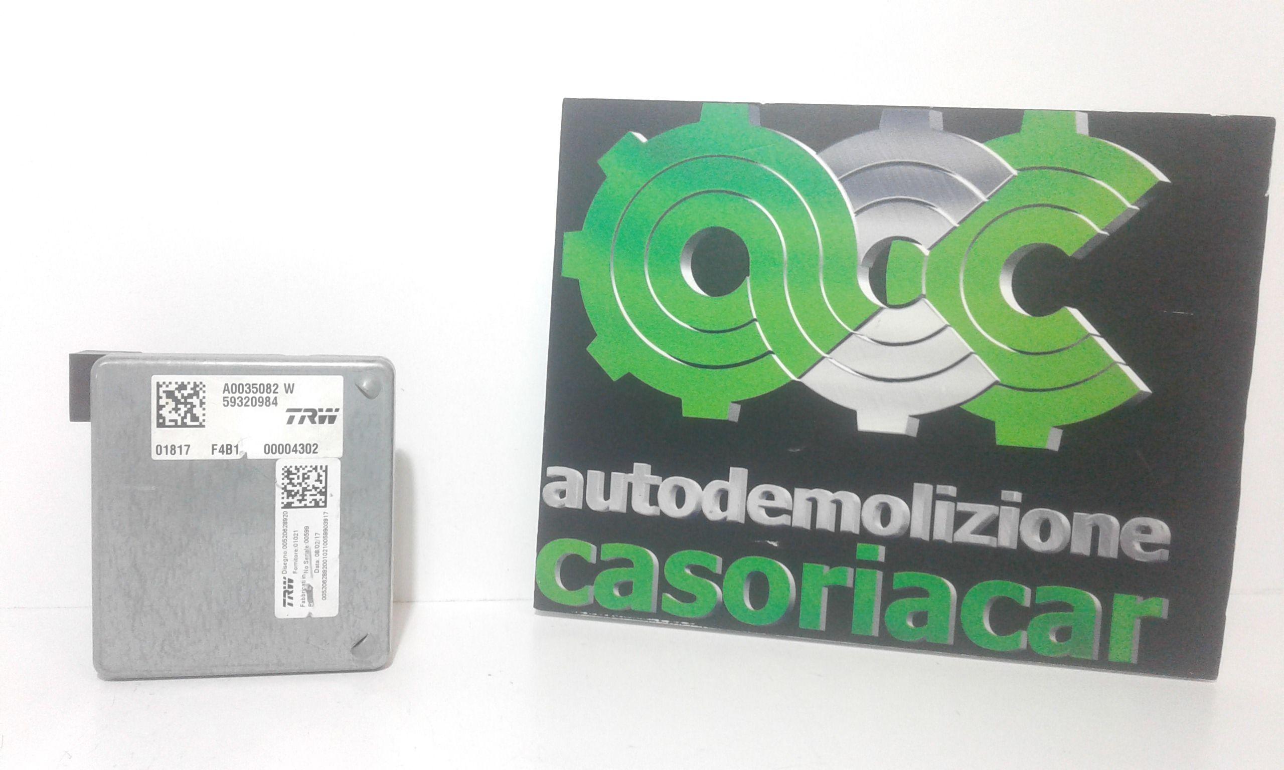 59320984 CENTRALINA SERVOSTERZO FIAT 500 X 1° Serie 1600 Diesel  (2017) RICAMBI USATI