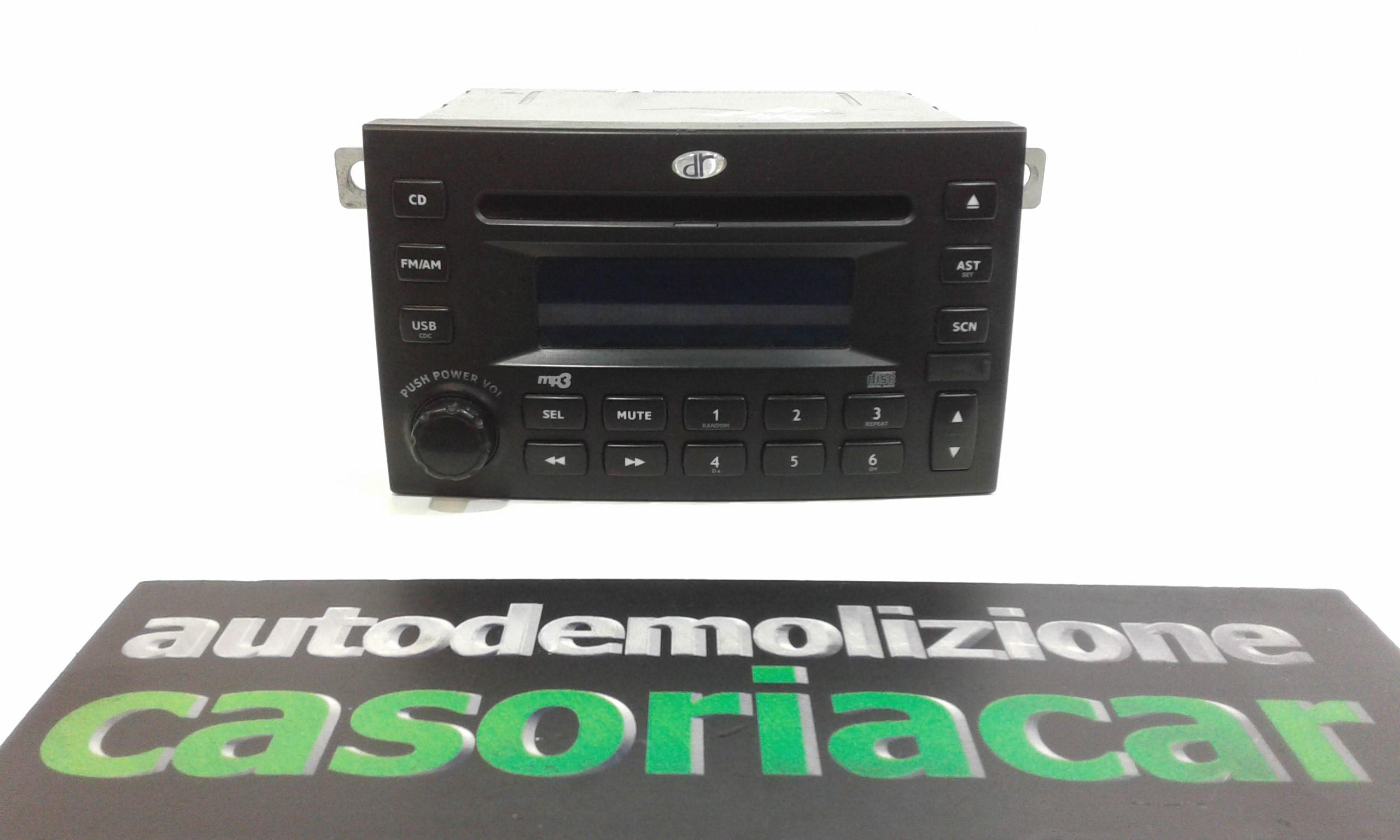 AUTORADIO MP3 DR 5 1° Serie 1600 Benzina  (2007) RICAMBI USATI