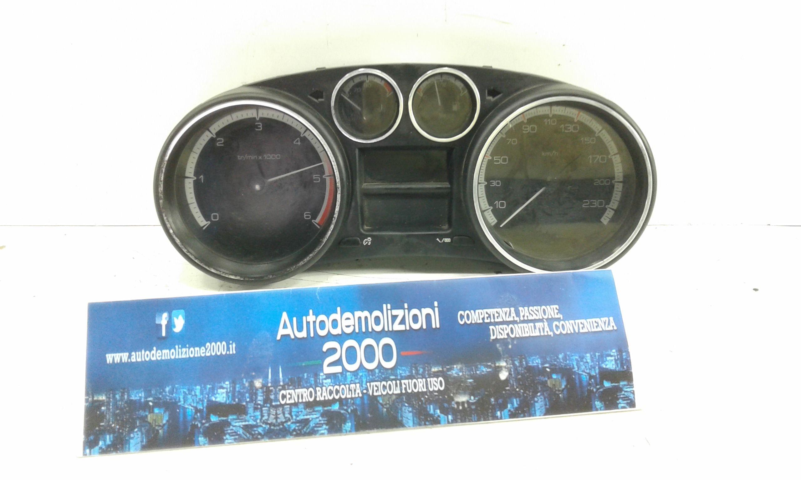 CONTACHILOMETRI PEUGEOT 308 1° Serie Diesel (2010) RICAMBI USATI