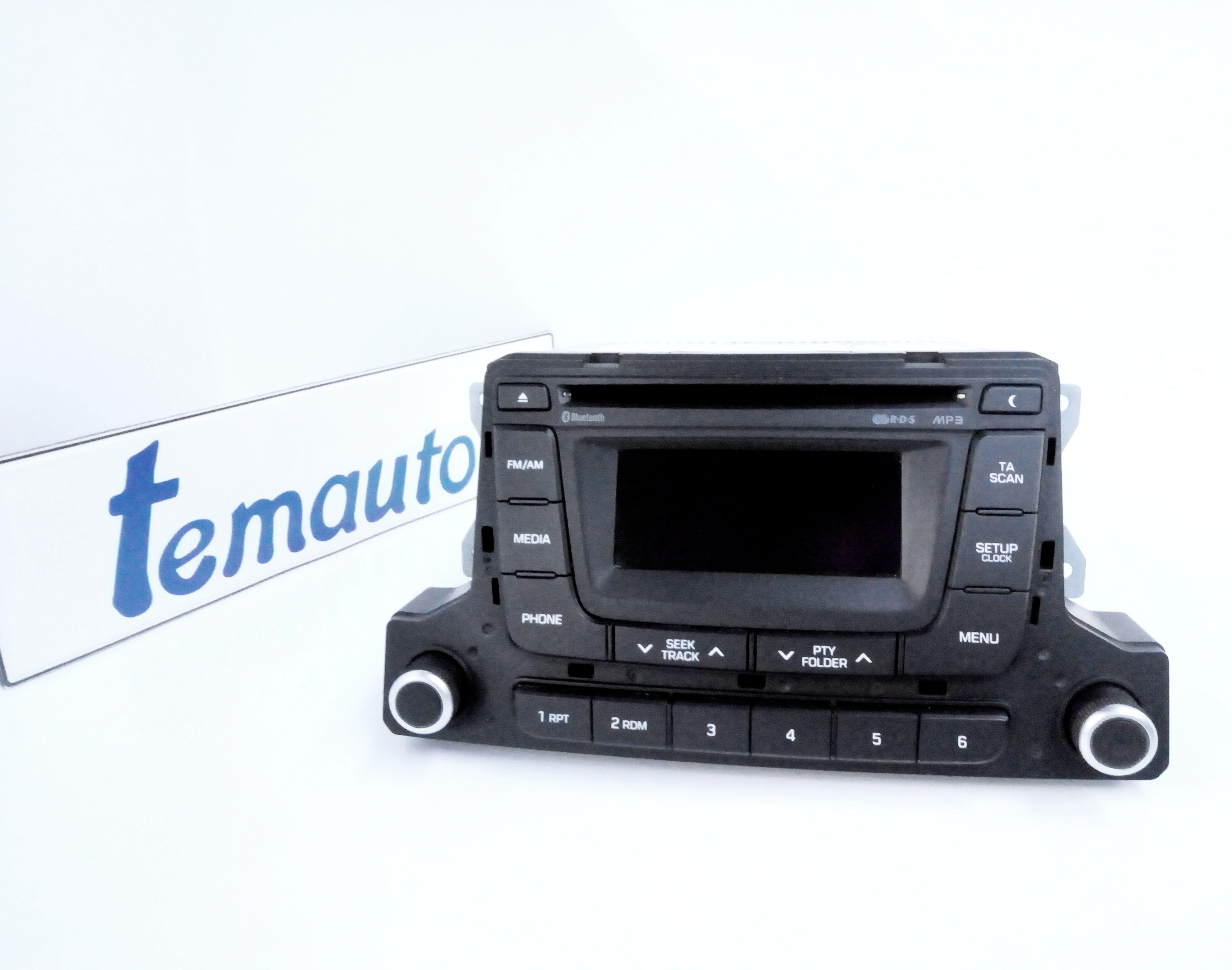 96170-B90504X AUTORADIO MP3 HYUNDAI i10 2° Serie  Benzina    () RICAMBI USATI