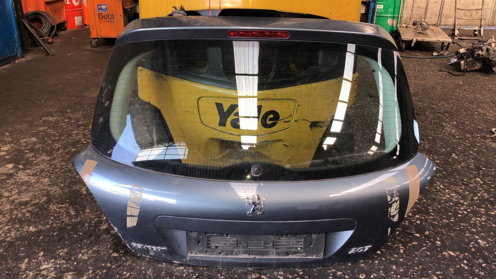 PORTELLONE POSTERIORE COMPLETO PEUGEOT 207 1° Serie 1400 Diesel 8HZ 55 Kw (2008) RICAMBI USATI