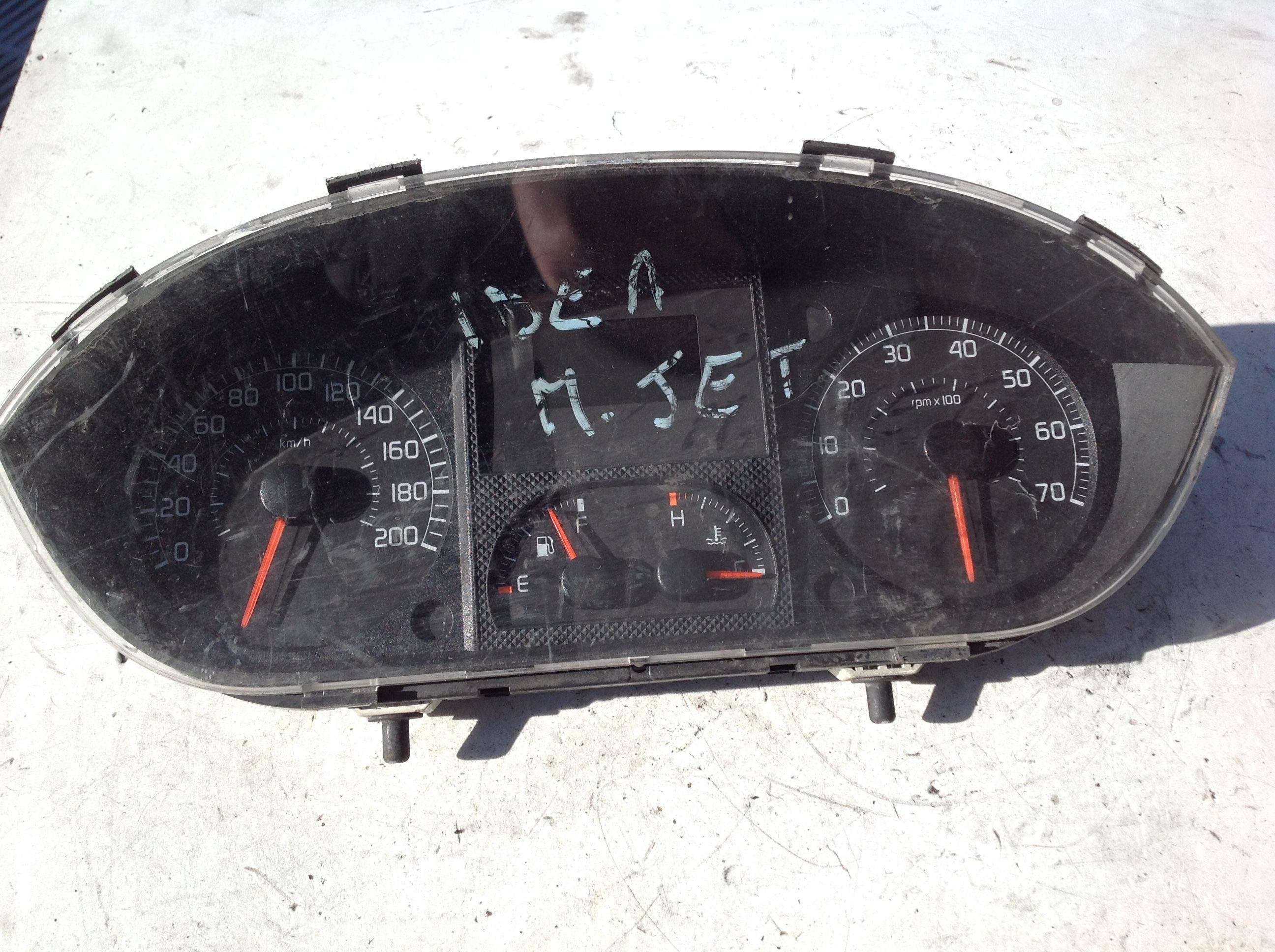 QUADRO STRUMENTI FIAT Idea 2° Serie  Diesel    () RICAMBI USATI