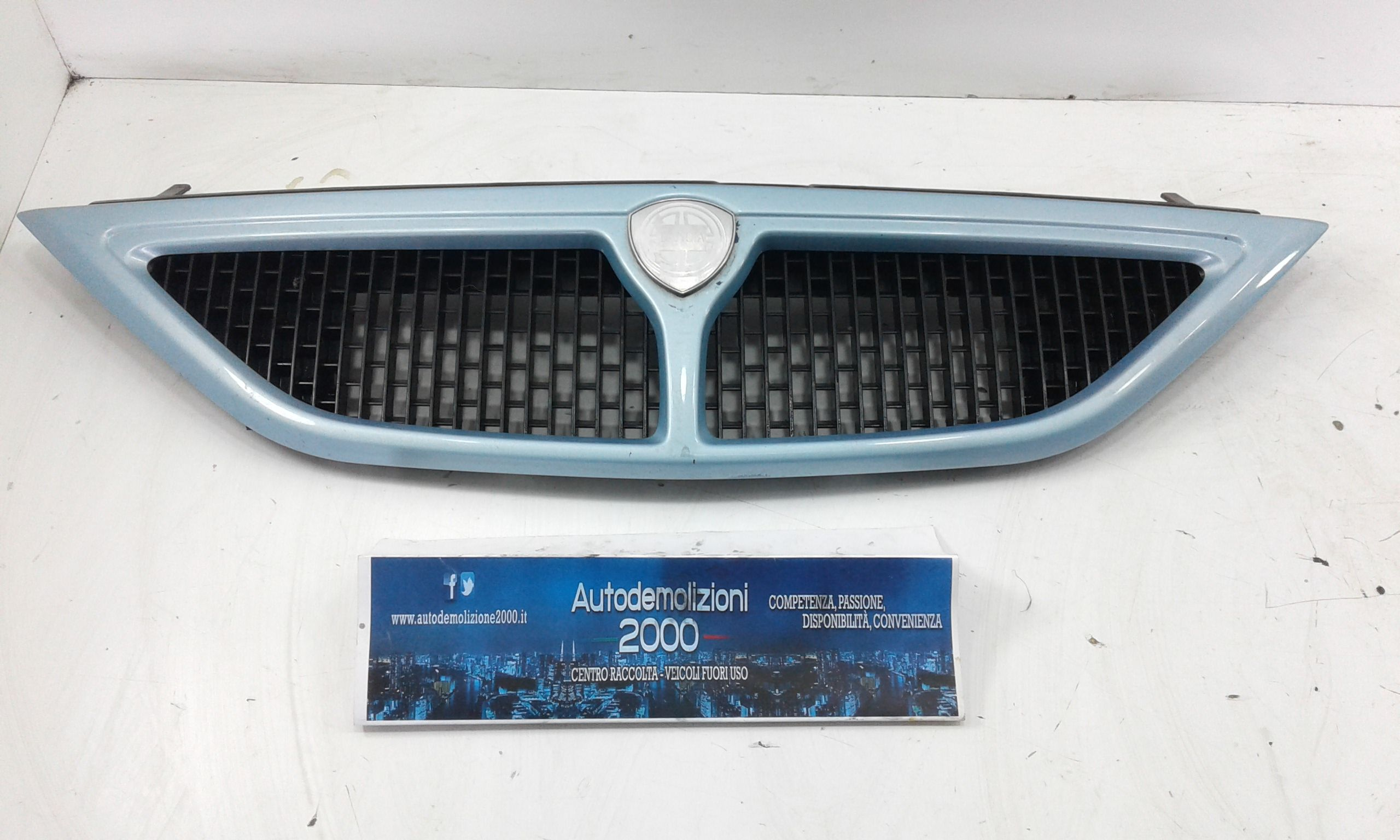 MASCHERINA ANTERIORE LANCIA Y Serie Benzina (2000) RICAMBI USATI