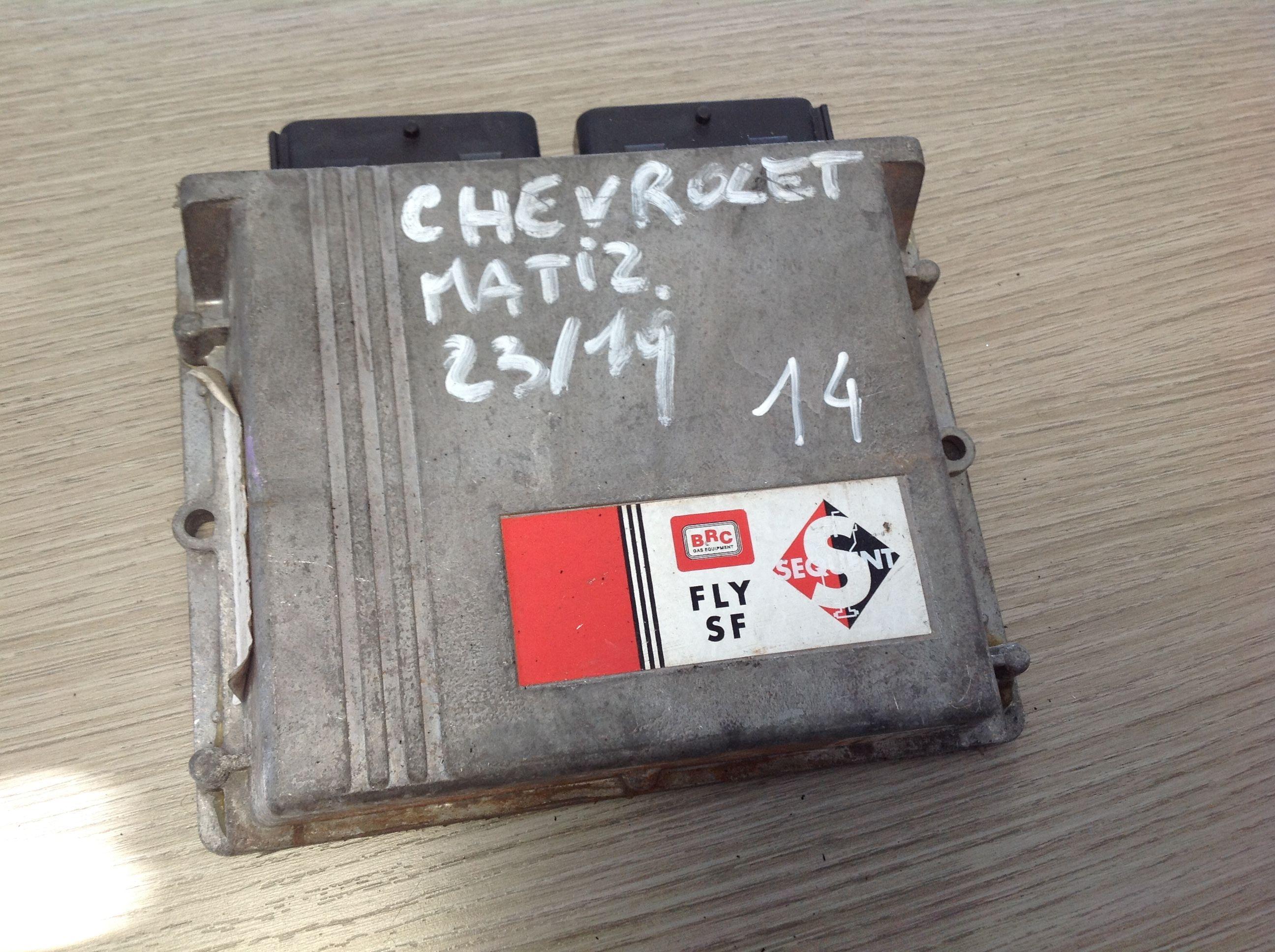 DE813131-04  DE813131-4 BRC FLY SF SEQUENT CENTRALINA GPL CHEVROLET Matiz 4° Serie  Gas    () RICAMBI USATI