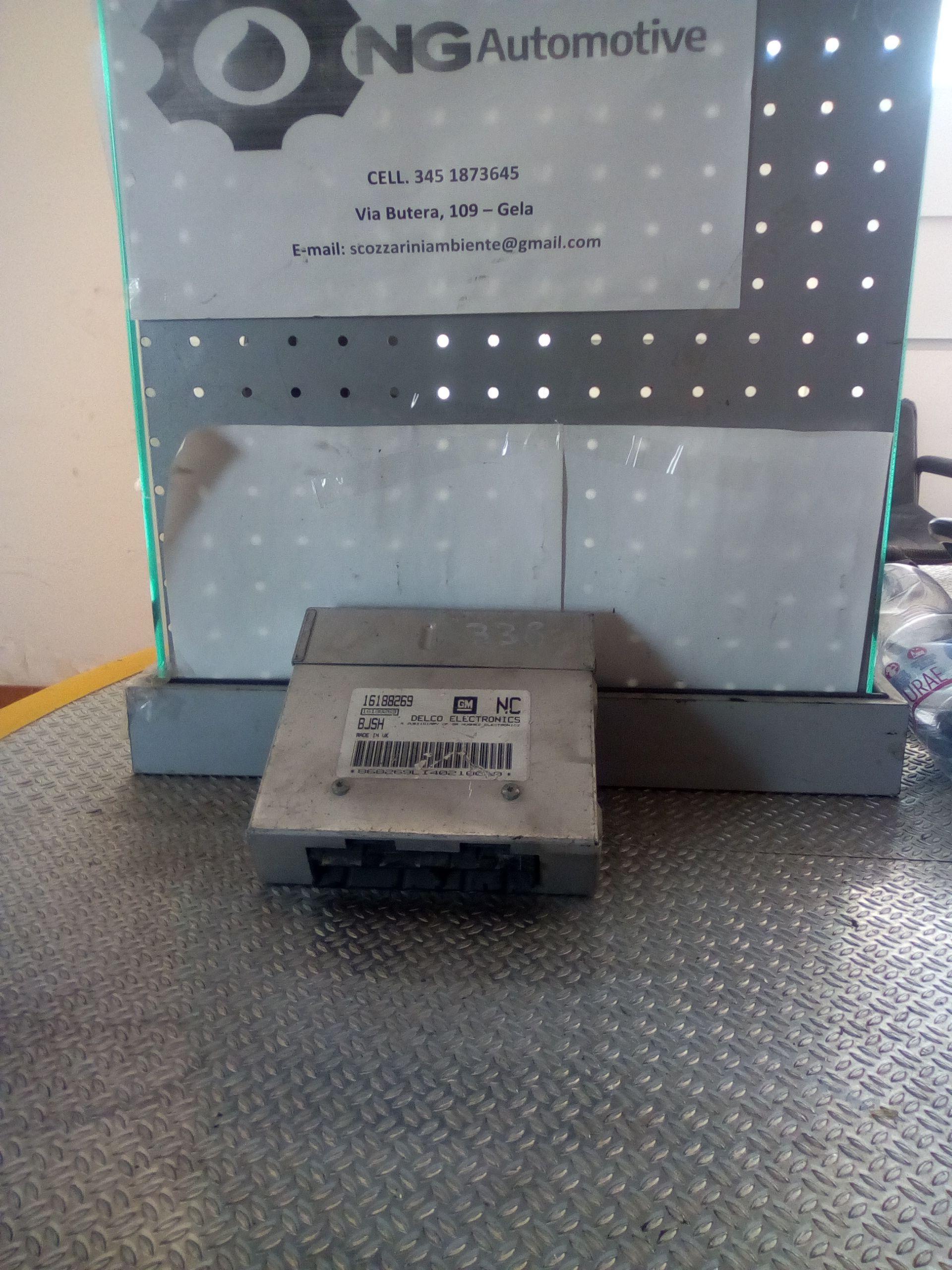 16188269 CENTRALINA MOTORE OPEL Corsa B 1° Serie 3P 1400 Benzina    (1994) RICAMBI USATI