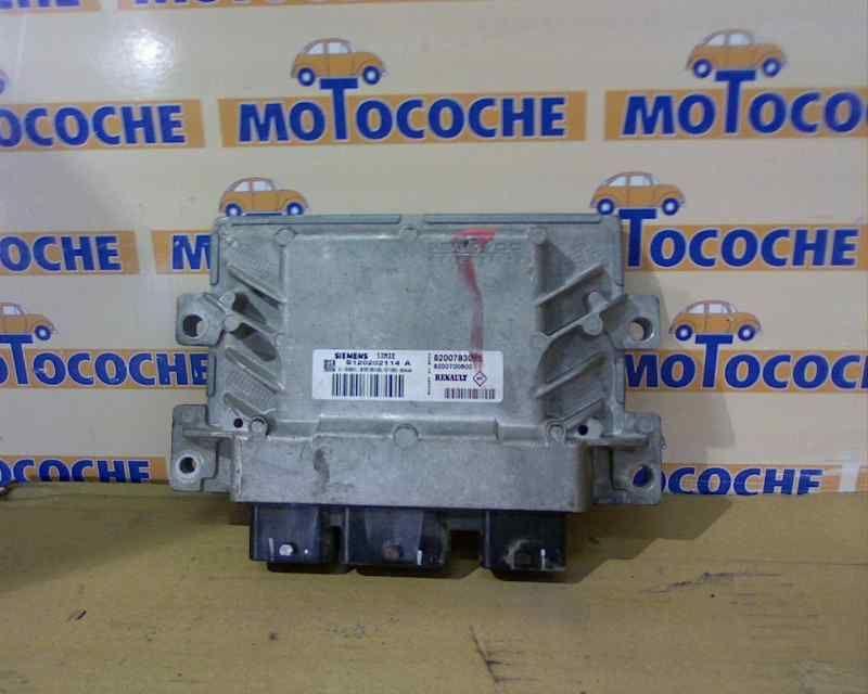 8200783095 S120202114 A CENTRALINA MOTORE RENAULT Twingo II serie (07>14) 63458 Km (2007) RICAMBI USATI